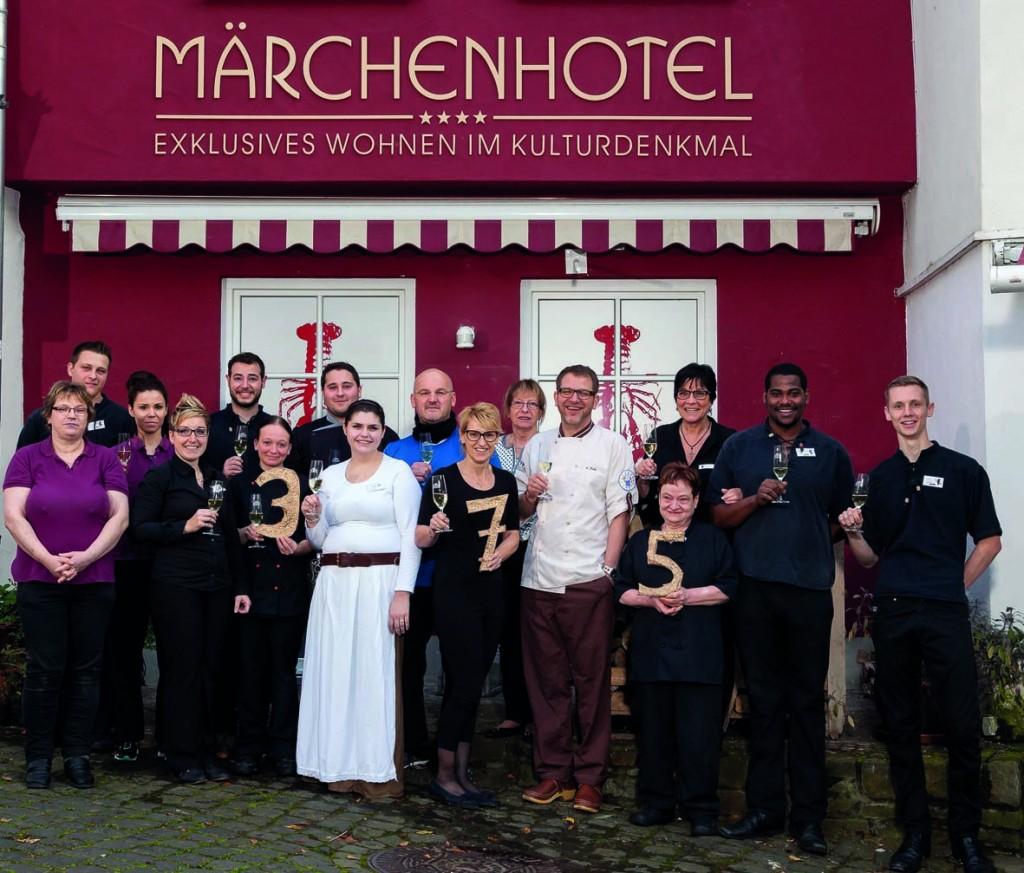 Mitarbeiterfotos Märchenhotel im Herbst 2014