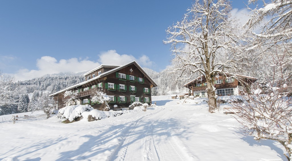 Der Waibelhof im Winter