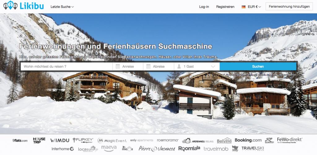 Portal für Ferienwohnungen: Likibu
